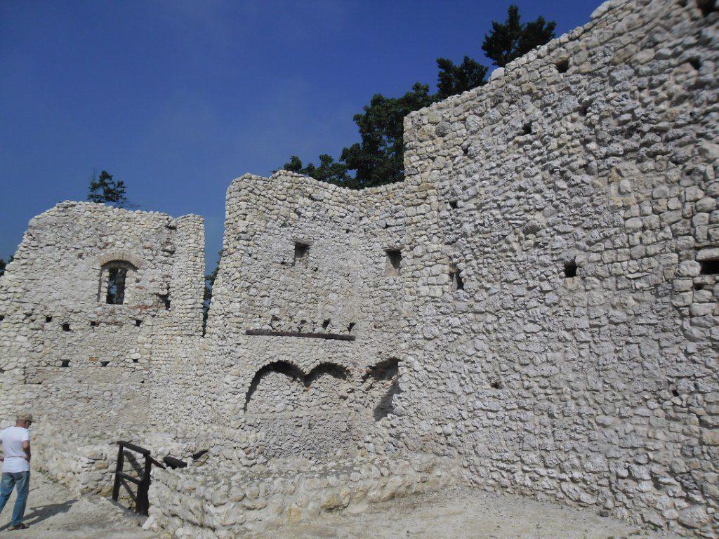 Mury zamku w Smoleniu