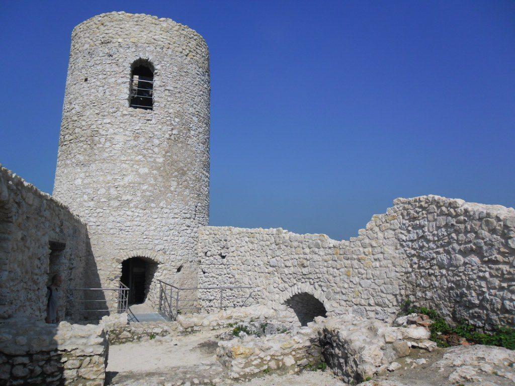 Wieża Zamku jurajski w Smoleniu